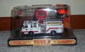 Mesa fire truck replica